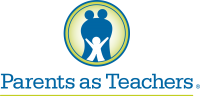 Parents as Teacher logo with two parental figures and a child